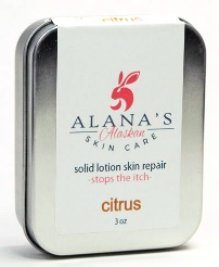 Alana's Solid Lotion Skin Repair Bar Tins