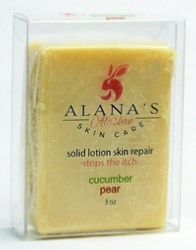 Alana's Solid Lotion Skin Repair Bar
